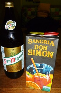 San Miguel And Don Simon Sangria