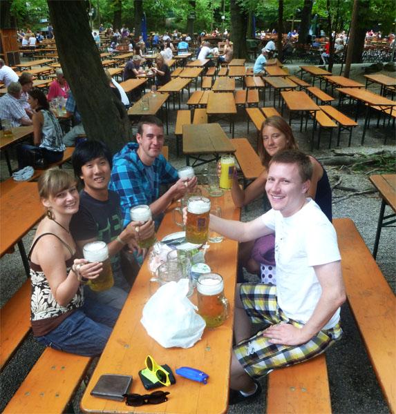 Munich Augustiner Beer Garden