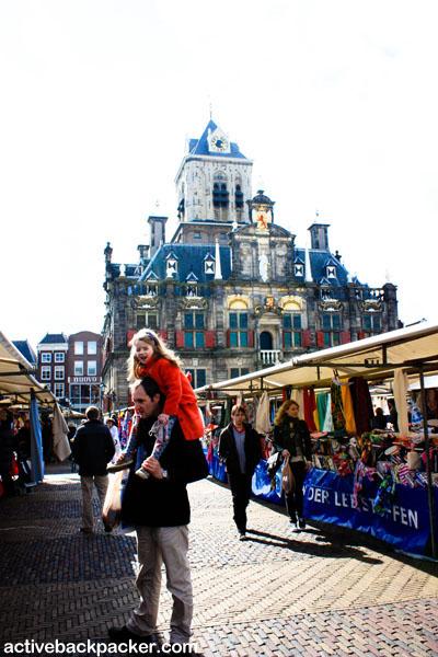 Delft Town Square
