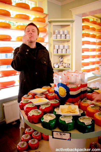 Cheese Store in Delft