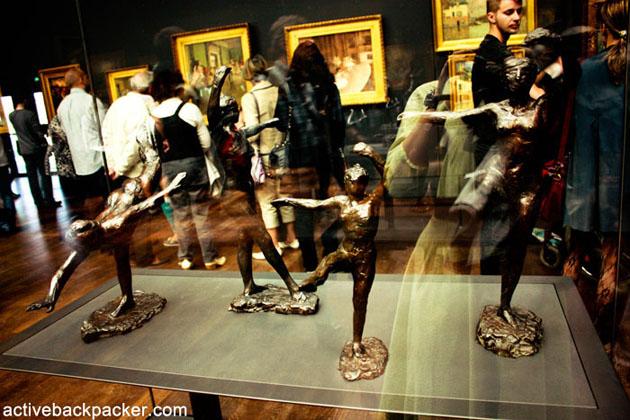 Degas' Ballerinas in Musee d'Orsay