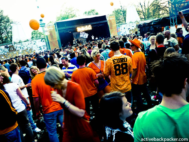 Inside Oranjebitter Festival In Rotterdam
