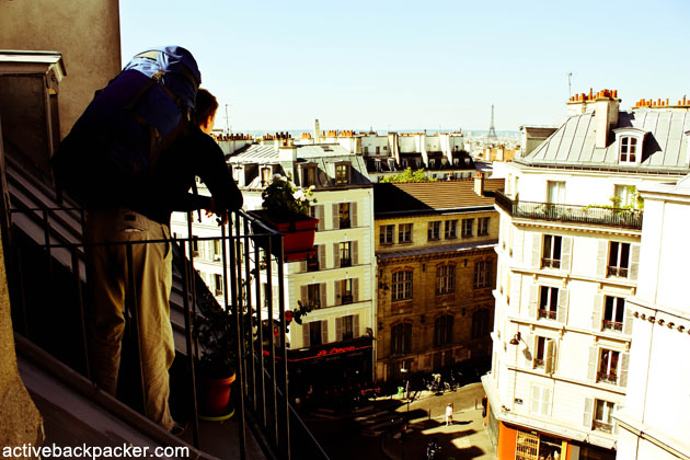 Travel Quotes - Backpack Over Paris