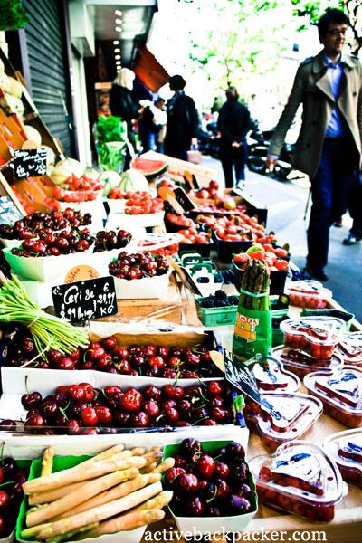 Delicious Fruit in Montmartre