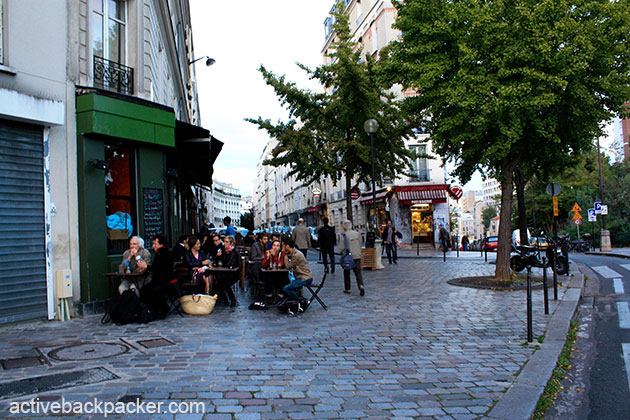 Rue Des Envierges in Paris