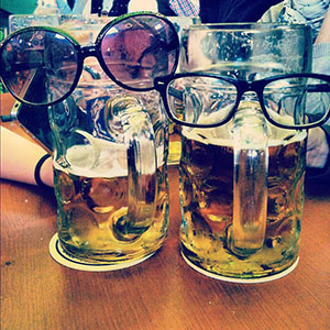 Instagram Oktoberfest Beers Look Happy