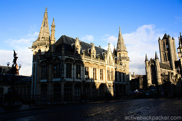 Churches in Ghent