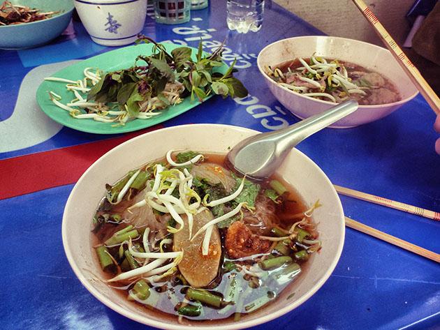 Noodle Soup in Bangkok