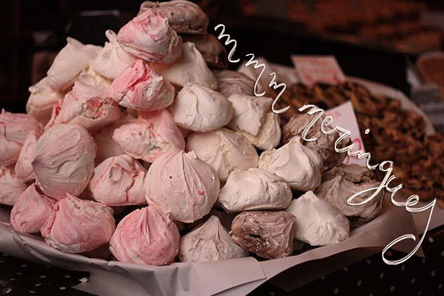 meringues at borough market