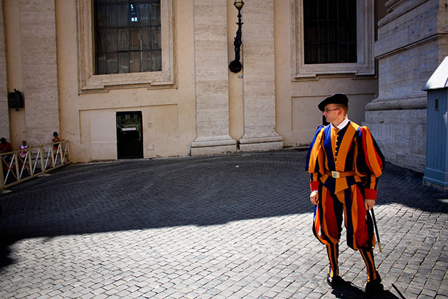 Swiss Guard at Vatican City