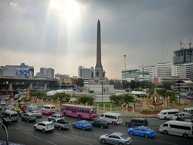 Victory Monument in Bangkok