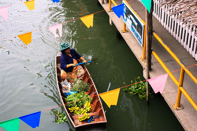 Floating Market Boat