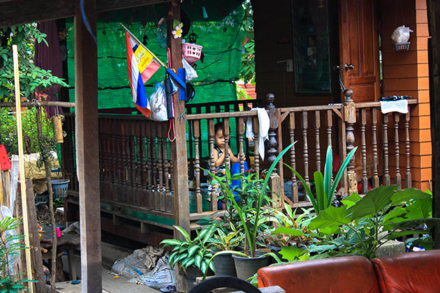Little Boy Near Khlong Lat Mayom