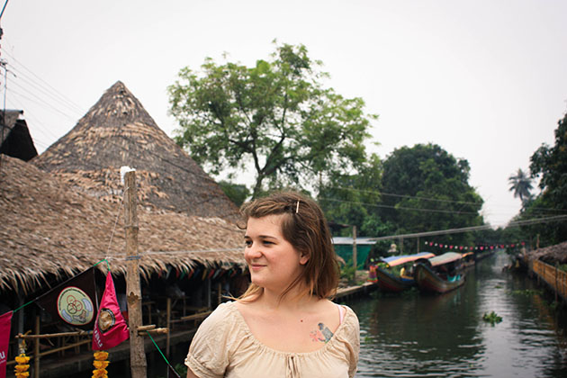 Trudy at Floating Market
