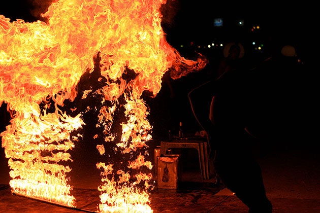 Fire Spinner 15