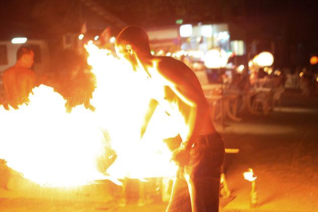 Fire Spinner 8