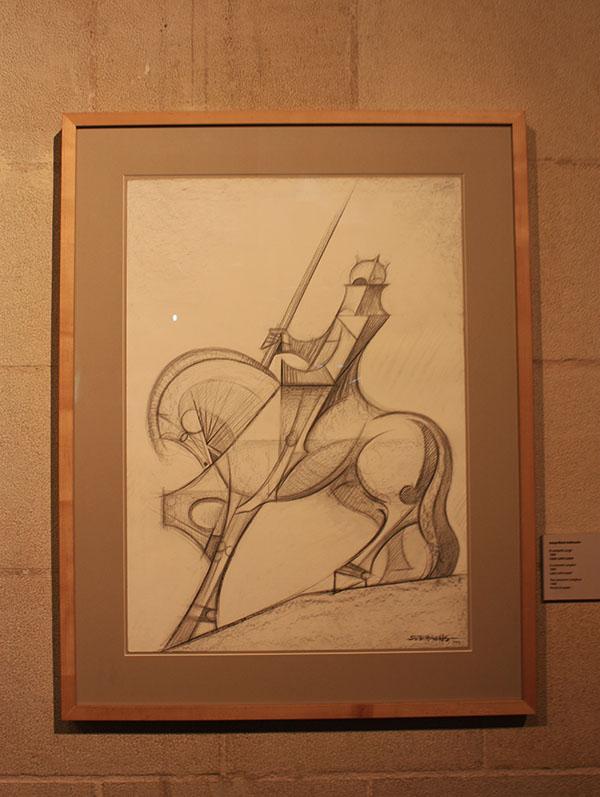 Knight Drawing