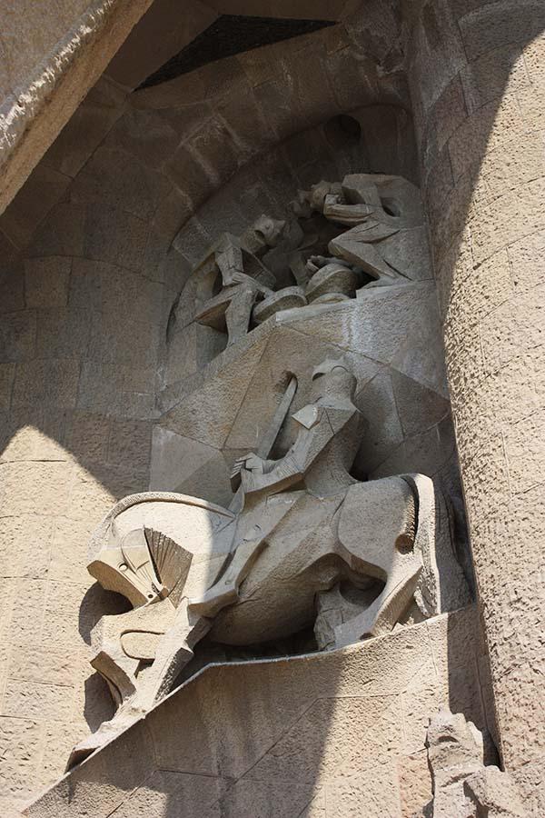 Knight Statue Sagrada Familia