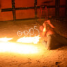 Fire Spinning: Twirling Fury In Haad Rin, Koh Phangan