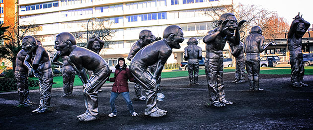 funny statues Vancouver