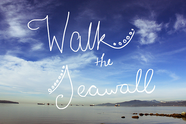 walk the seawall