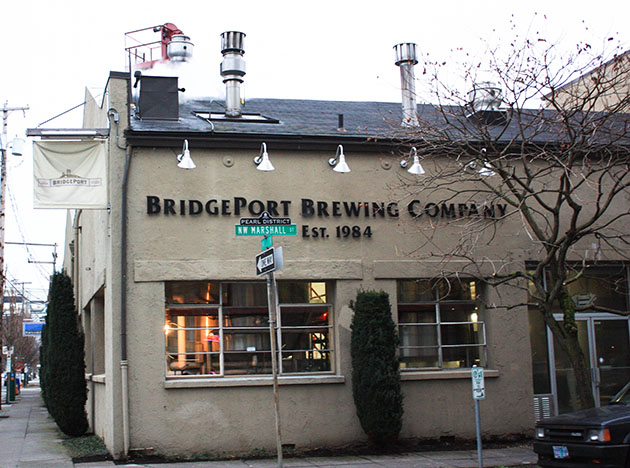 Bridgeport Brewery in Portland