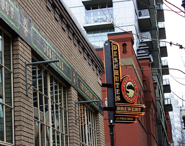 Deschutes Brewery in Portland