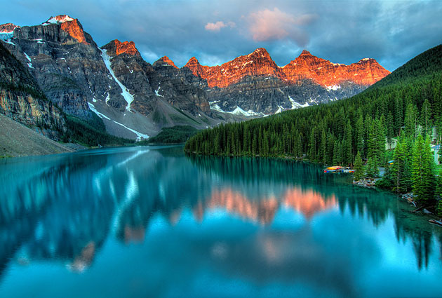 Moraine Lake Sunrise Banff