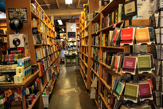 Powells Bookstore in Portland