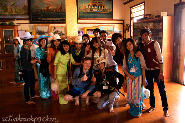 Group of Myanmar Young Adults Photo