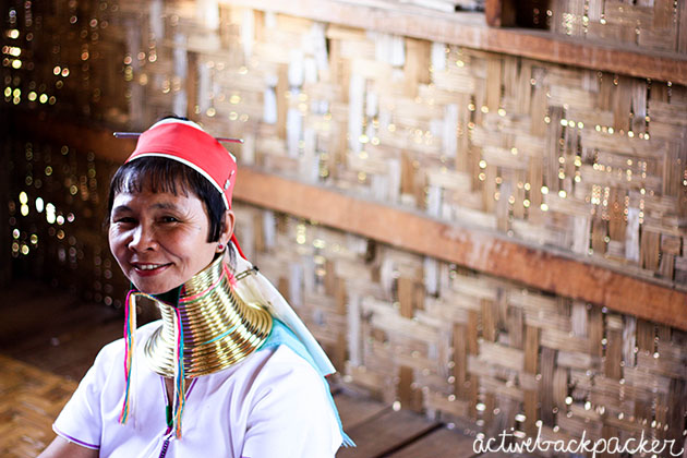 Neck Ringed Women At Inle Lake