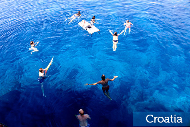 Swimming In Croatia Travel