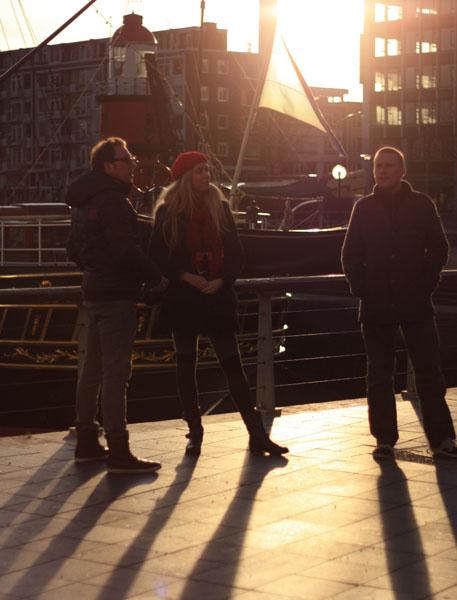 Standing Around Rotterdam