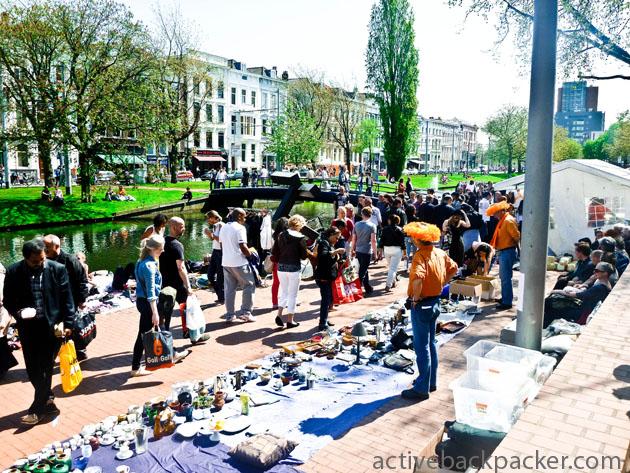 Queens Day Markets In Rotterdam