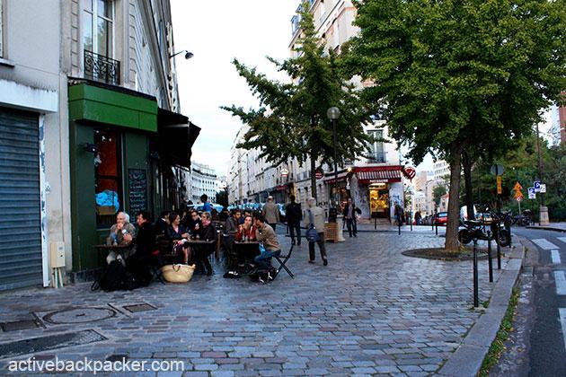 Rue Des Envierges in Paris