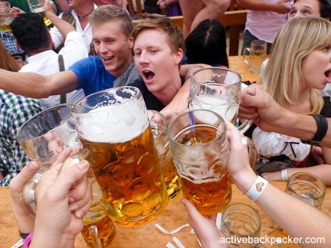 Cheers It's Oktoberfest Beers