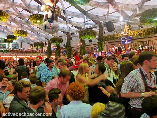 Hofbrau Tent at Oktoberfest