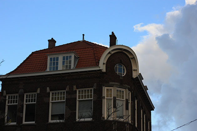 Dutch Houses in Delft