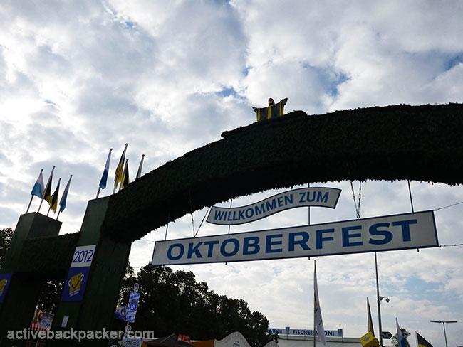 Oktoberfest Entrance 2012