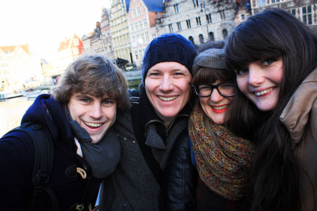 What To Do In Ghent - a photo of us in Ghent