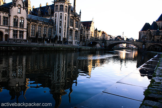 St Michaels Bridge in Ghent