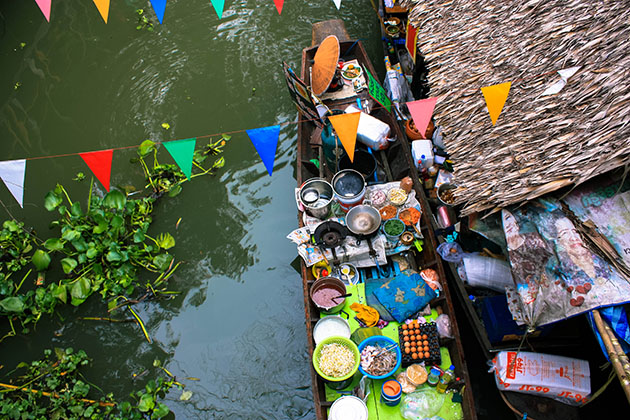 Bangkok Floating Market Khlong Lat Mayom