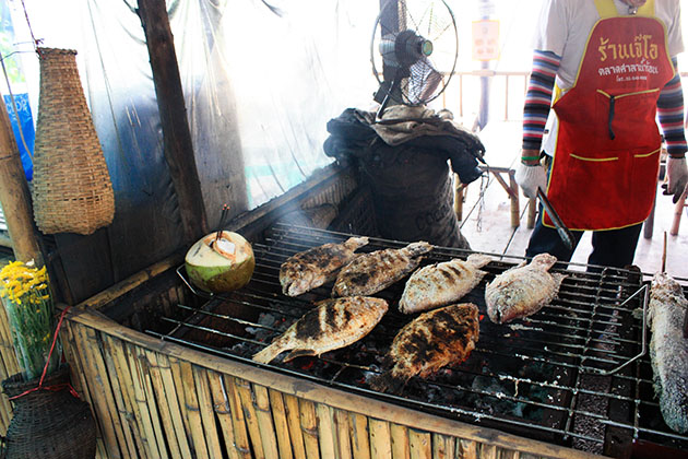 Roasting Fresh Fish