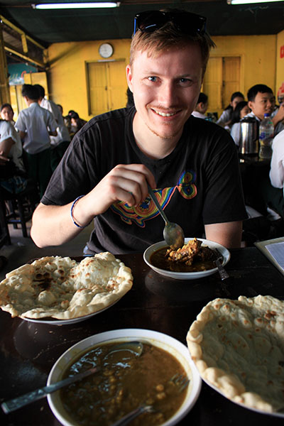 Cheap Indian Curry in Myanmar