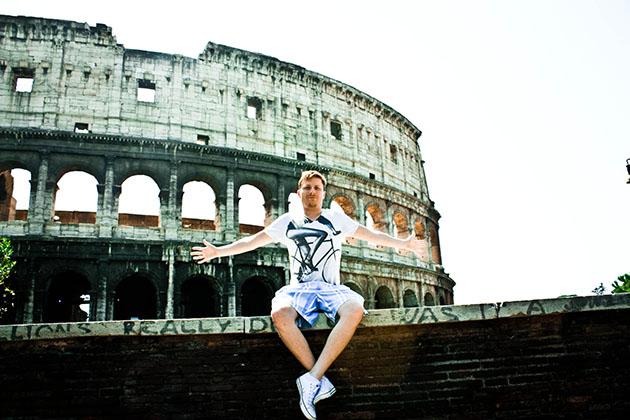 Colosseum and Tom