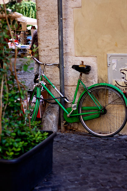 Green Bicycle Rome