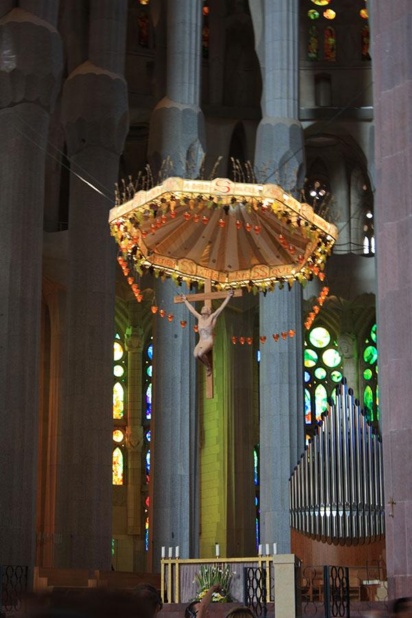 Jesus Christ in Sagrada Familia