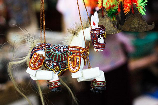 Horse Puppet In Bogoyke Market