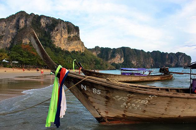 Long tail boats Thailand