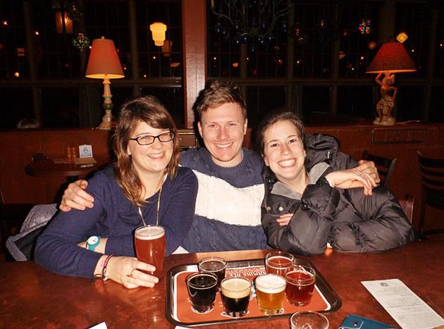 Us Enjoying Beers In Kennedys Portland